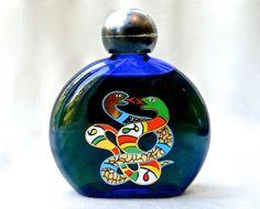 Vintage Niki de Saint Phalle Mini Intertwined Snake Bottle - Full Perfume Eau De Toilette - 60 ml - 2 Full oz