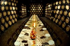 Barrel Room at Wiens Family Cellars -repinned from Los Angeles wedding minister https://OfficiantGuy.com #losangeles #weddings