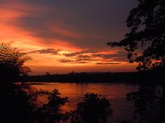 Sunset on the Sen river in Ratanakiri, Cambodia Make You Cry, Beautiful Sunrise, Rivers, Cambodia, The Great Outdoors, Sunsets, Vietnam, Thailand, Asia
