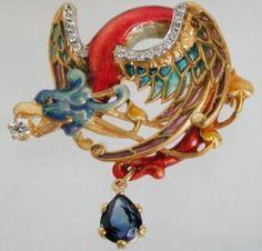 Masriera Pendant/Brooch PB-608 - Hartmann Jewelers