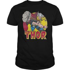 Marvel Mighty Thor Hammer Throw Shirt is perfect shirt for men and women.  This shirt is designed with 100% cotton, more color and style: t-shirt,  hoodie, ...