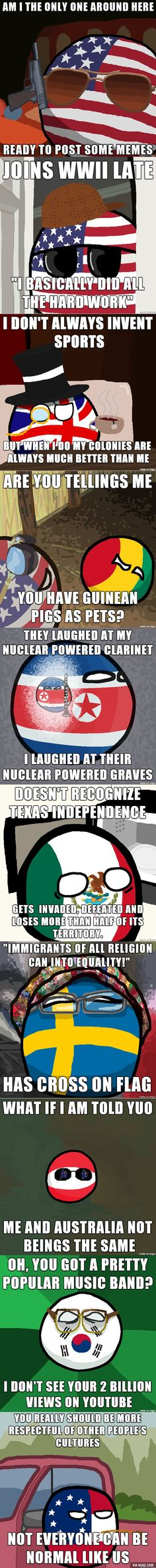 Countryballs can fit into memes now!<-- XD si~