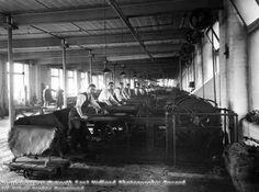 Turney Brothers, Leather Works, Trent Bridge, Nottingham, 1933