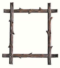 Vintage Black Forest Frame