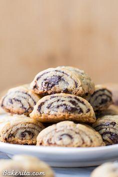 Chocolate Rugelach (Gluten Free + Refined Sugar Free) • Bakerita