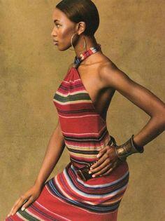 Naomi: Ralph Lauren 1997