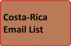 #Costaricaemaillist for create your online email marketing campaigns online. You can buy from here Costa-Rica Email List that will help you promote your products in this country.
