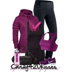 """"""".Work it out."""" by candy420kisses on Polyvore"""