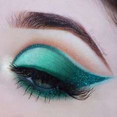 ♕ Make Up Look ~ Emeralds are a Mermaid's Best Friend ♕