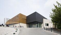 Janine Jambu sports centre, Bagneux, 2013