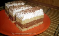 Retete Culinare - Prajitura Kati Romanian Desserts, Romanian Food, Romanian Recipes, Hungarian Cake, Recipes From Heaven, Sweet Cakes, Something Sweet, Biscuit, Sweet Treats