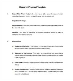 research proposal essay examples