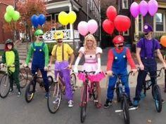 mario cart costumes. I like minus the balloons.