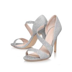gee, silver shoe by carvela kurt geiger - women high heels