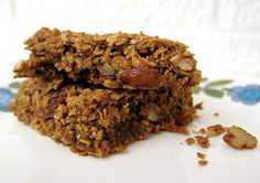 Healthier Fruit and nut flapjacks