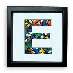 Lego Storage Frame with Initial