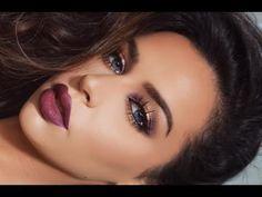 Purple Smoke - Dramatic FALL Makeup Tutorial - Makeup | Bellashoot