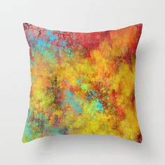 She Wears My Pain On Her Lips Throw Pillow by Timothy Davis - $20.00