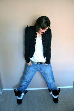 My gorilla sneakers ! Le scarpe gorilla !