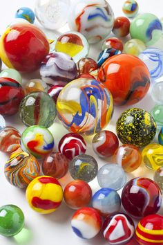 Many Beautiful Marbles Photograph  - Many Beautiful Marbles Fine Art Print