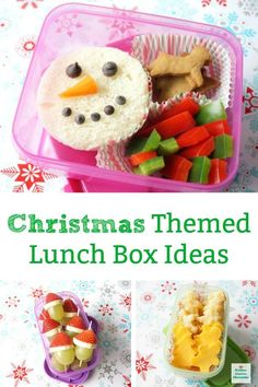 Simple Christmas Themed Lunch Ideas To Make For Kids