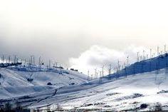 Windmills and Snow... Tehachapi