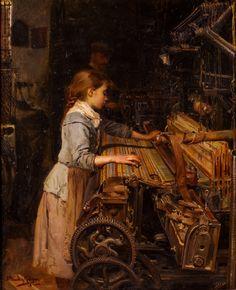 Joan Planella i Rodríguez (Barcelona, 1849 - 1910), La petita obrera, c.1885