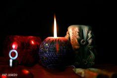 la luz en la vela
