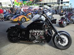 The new 2016 Boss Hoss motorcycle. Stronger than ever. LS3-525HP