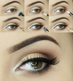 Miss Beauty: Mocha Beautiful makeup
