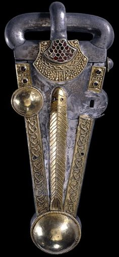 Anglo Saxon belt buckle.