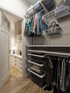 31 Trendy bedroom closet makeover walk in spaces Closet Mirror, Closet Bedroom, Small Closet Organization, Bedroom Organization, Organization Ideas, Closet Lighting, Bedroom Layouts, Trendy Bedroom, Bedroom Small