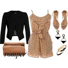 Romper Style, created by ciribiricoccola on Polyvore