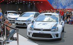 Volkswagen Polo R WRC in versiune de raliu si de strada Volkswagen Polo, Polo R, Bmw, Racing, Vehicles, Black, Black People, Auto Racing, Lace