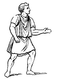 The tunic was adapted into many styles and was the basic garment of adults in ancient Rome after the 2nd century BC