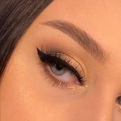 Eyebrow Makeup Tips, Makeup Tutorial Eyeliner, Makeup Looks Tutorial, Eye Makeup Steps, Makeup Eye Looks, Eye Makeup Art, Natural Eye Makeup, Makeup Videos, Skin Makeup