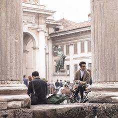 """Colonnes San Lorenzo - """"24 heures à Milan (ou ma journée de non fashion victim)"""" by @Voyagesetc"""