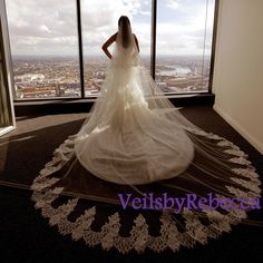 Hey, I found this really awesome Etsy listing at https://www.etsy.com/listing/250075238/cathedral-lace-veil-with-blusher-2-tiers