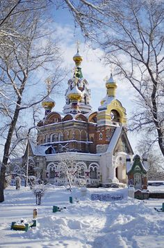 Величие и тишина... Храм Сергия Радонежского