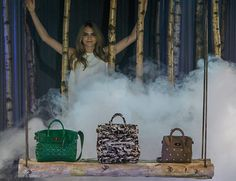 Cara Delevigne presents the Cara Delevigne Collection by Mulberry during London Fashion Week