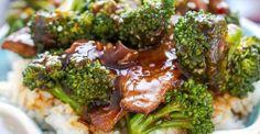 Skinny Beef and Broccoli