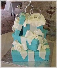 Maybe this Tiffany cake for our 10th Anniversary!