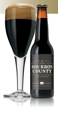 e16127156a9 Goose Island Bourbon County Stout A Bourbon Barrel-Aged Imperial Stout.  Brewed with Willamette hops  Munich
