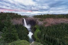 Helmcken Falls Photo by Claude Robidoux -- National Geographic Your Shot