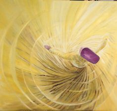"""""""What has he found who has lost God? And what has he lost who has found God?"""" Sufi dance oil painting by Jaanhavi"""