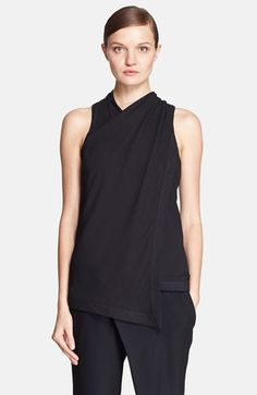 Helmut Lang Draped Jersey Top available at #Nordstrom