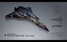 Knightsbridge SClass Light Frigate by Hazzard65.deviantart.com on @deviantART