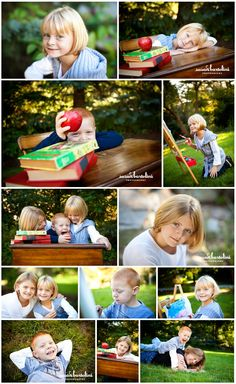 Back to school photography via www.susanbartolini.com