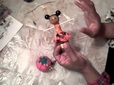 How to make wooden clothes pin dolls..