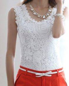 Purchase Elegant Women Floral Crochet Lace Sleeveless Tank Tops - White 12 from Sirzua Stuffs on OpenSky. Share and compare all Tank Tops & Camisoles White Maxi Dresses, Backless Maxi Dresses, Floral Maxi Dress, Floral Lace, Chiffon Dress Long, Maxi Dress With Sleeves, Elegant Woman, Georgia, Lace Tank